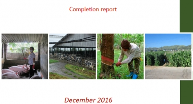 Ecohealth FBLI Completion Report Is Available